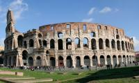 Shared Tour: Colosseum, Roman Forum and Palatine Hill Afternoon Tour with Transportation